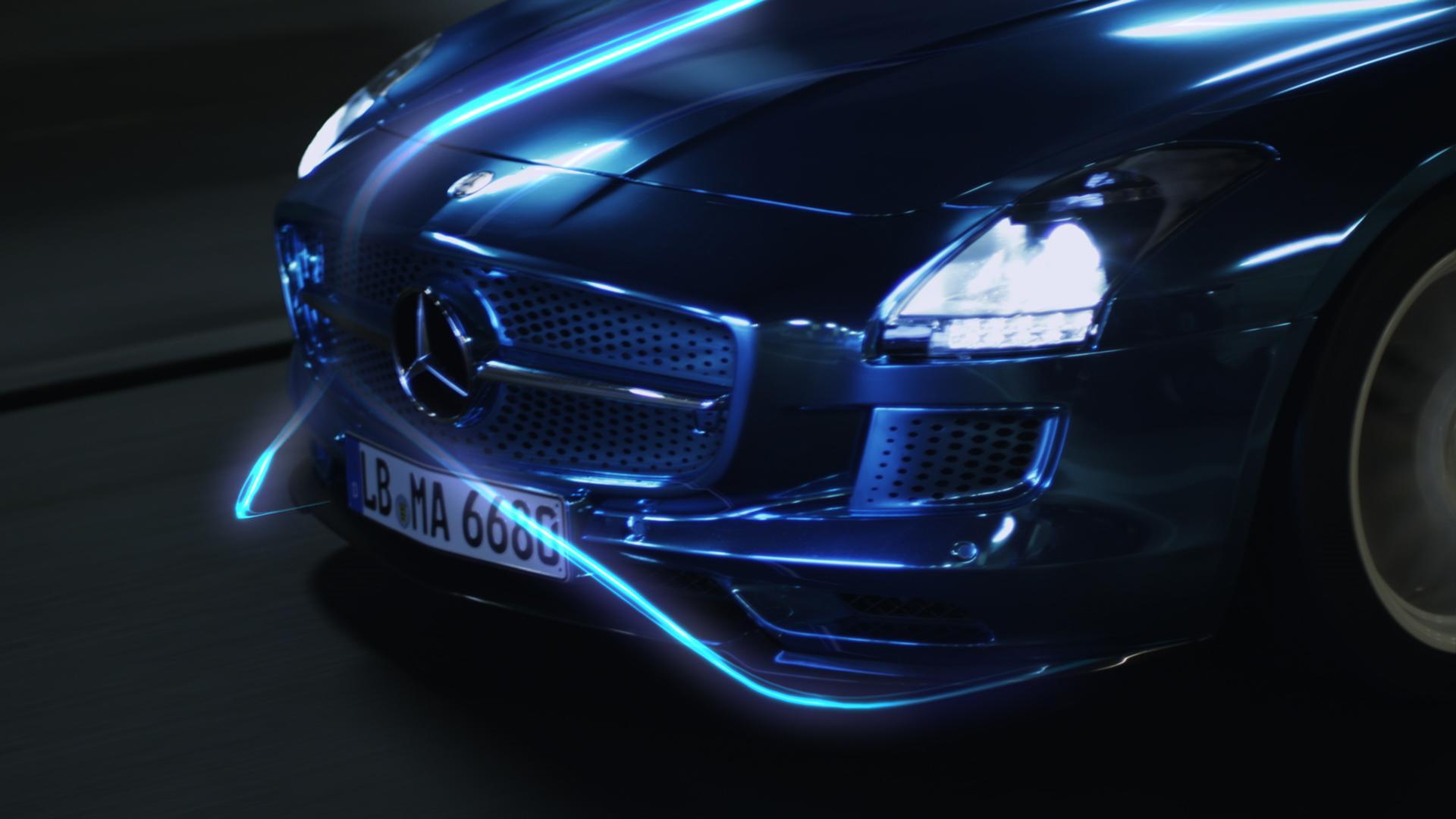 Mercedes Electric Drive